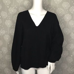 H&M Conscious Sweater Size Small Black